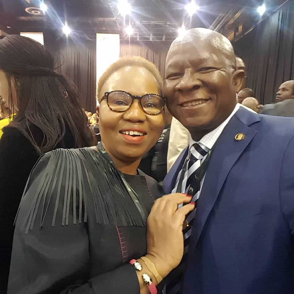 Ambassador Malefane at Presidential Investment Summit with Minister Lindiwe Zulu
