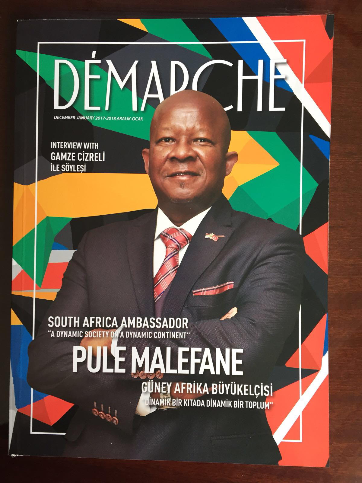 Demarche Cover