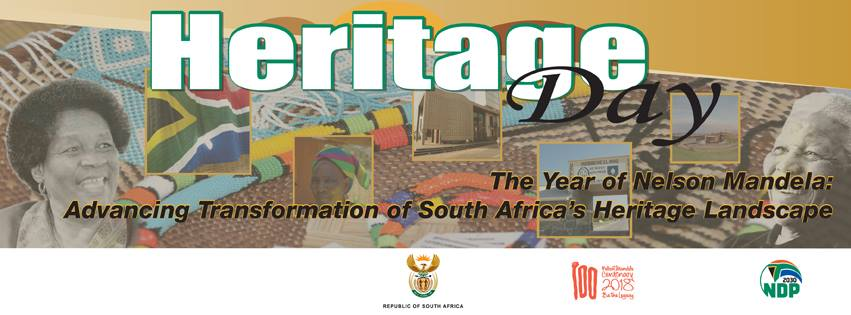Heritage Day 24 sept 2018