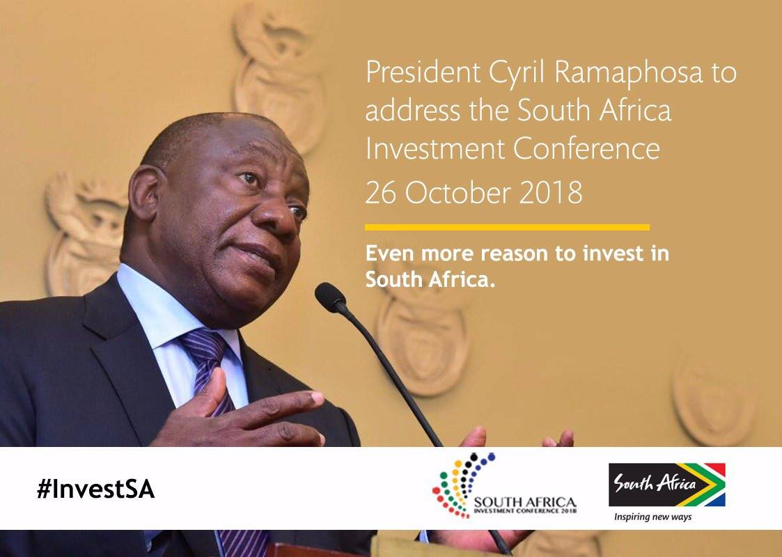 Investment Conference 26 October 2018