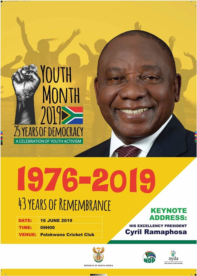 youth day banner 2019 poster